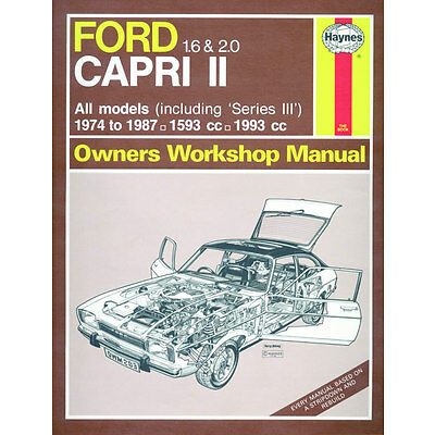 All car manuals products in haynes diy car and automotive repair 0283 haynes ford capri ii and iii 16 20 1974 1987 solutioingenieria Image collections