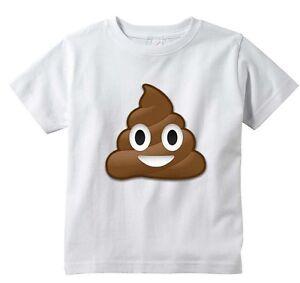 415d3ecb Poo Emoji Custom T-shirt, Poop emojis Tee, Infant through Adult ...