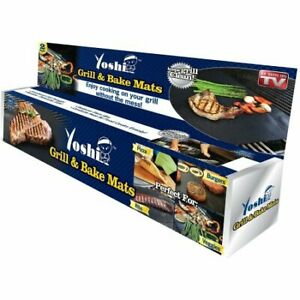 Details About Yoshi Grill And Bake Mat Deluxe Combo