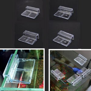 Aquarium tank clear plastic clips glass cover strong for How strong is acrylic glass