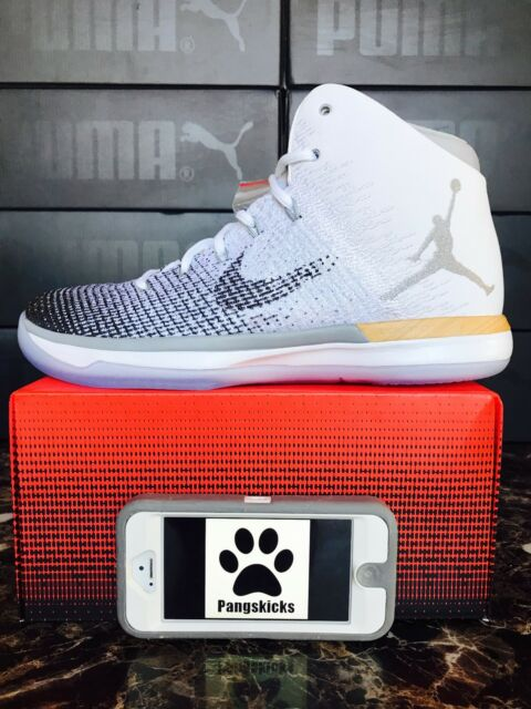 ae5b8a48b1e Nike Air Jordan 31 Xxx1 Chinese Year CNY White Black Gold 885429 103 ...