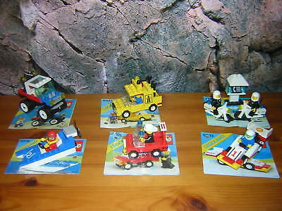 (g 10) Lego Legoland Classic 6503 6505 6508 6521 6522 6641 Ba Eccellente (In) Qualità