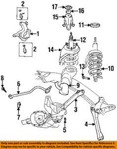 s l300 chrysler oem rear suspension upper control arm mount bolt 6502725 ebay