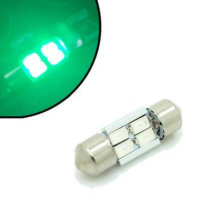 4 Led Interno Striscia 31mm C5w 269 Lampadina Blu Rosso Bianco Verde Disco Qualità E Quantità Assicurate