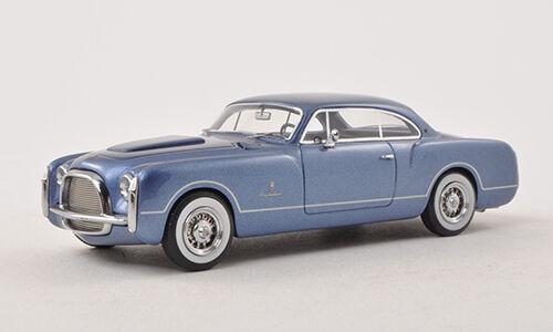 Bos 1952 chrysler ss, metallic - blau limited edition 1 43 neuer posten  sehr selten.