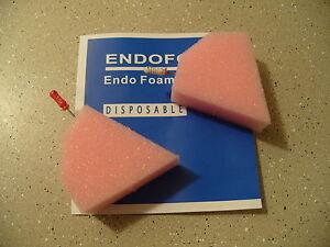 480 Dental Endodontic Foam triangle sponges Endo Inserts High Quality