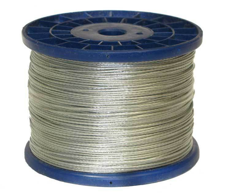 Electric Fence   Fencing  Superior Stranded Steel Wire   400 meter roll