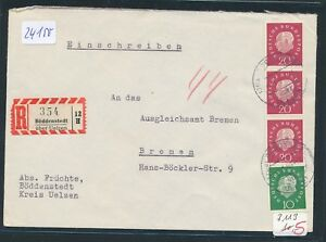 100% De Qualité 24150) Landpost Reco-lettre 1960, Akz Rz Böddenstedt Sur Uelzen-afficher Le Titre D'origine PréVenir Et GuéRir Les Maladies