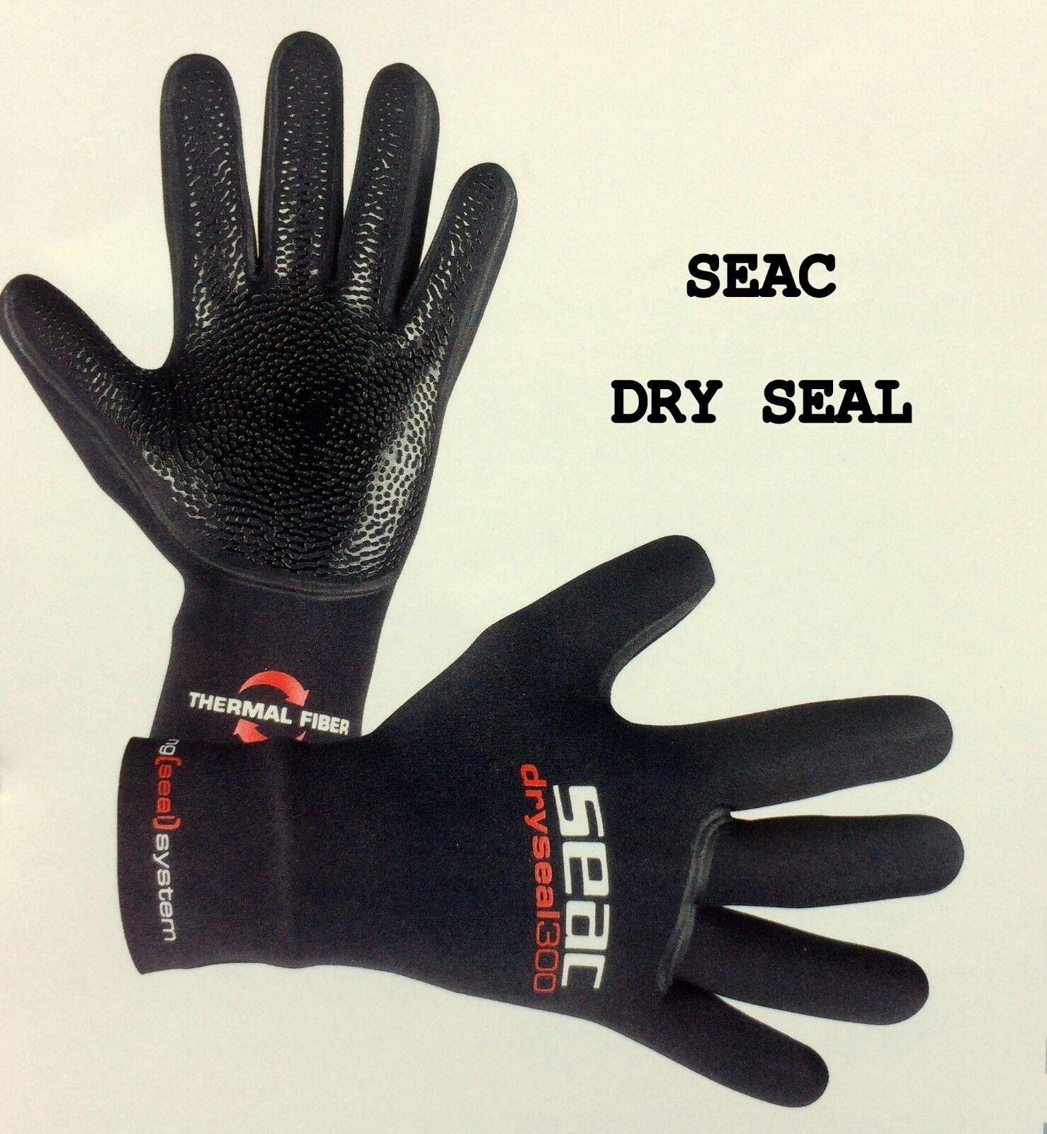 Neopren Handschuhe Paar  DRYSEAL500  5 mm L SEACSUB  | Elegant
