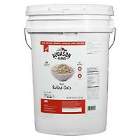 Augason Farms Quick Rolled Oats Emergency Food Storage 20 lb Pail