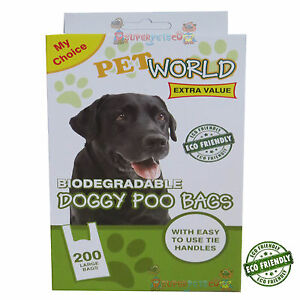 2-x-200-Dog-Puppy-Doggy-Biodegradable-Scented-Poo-Bags-Pet-Pals-Poop-Dispose