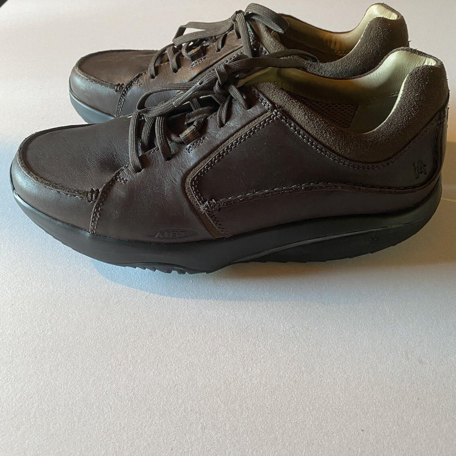 MBT Fanaka Rocker Walking Shoes 400223-01 Men's 8.5 (EUR 41) Brown Leather