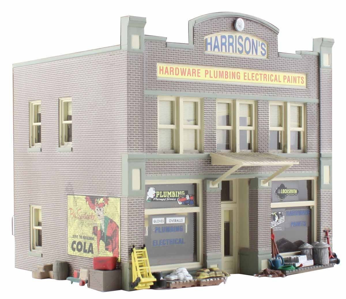 Venta en línea precio bajo descuento Woodland Woodland Woodland Scenics HO Harrisons hardware Built - & - listo estructura  lo último