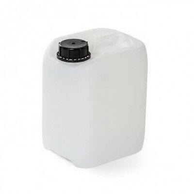 NEW 3 x 30 Litre Jerry Can Natural Camping Plastic Canister Water Canister
