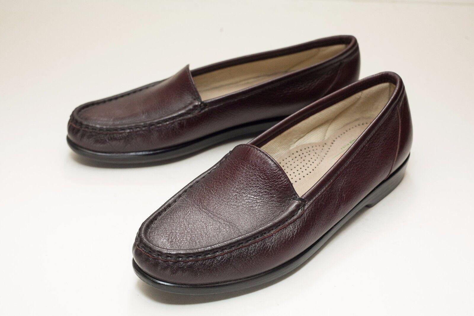 SAS 9 N Marron Slip On Chaussures Femme