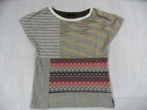 Gr M Custo Glitzershirt Top Barcelona Materialmix Schönes Kos718 xrXq8pSqIw