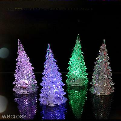 LED Lamp Light Crystal Decoration Home Party Gift Decor Xmas Christmas Tree