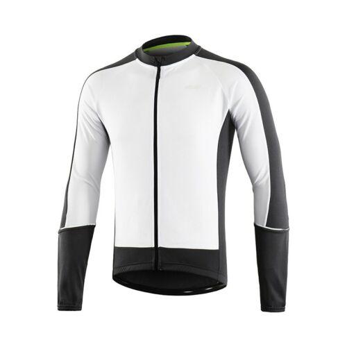 Men Long Sleeve Cycling Jersey Downhill MTB Mountain Bike Shirts Quick dry