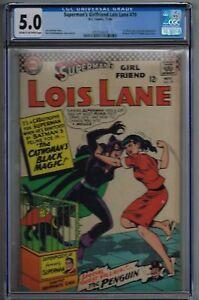 Superman-039-s-Girlfriend-Lois-Lane-70-CGC-5-0-Compare-with-Batman-181