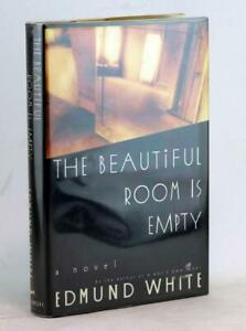 Edmund-White-Signed-First-Edition-1988-The-Beautiful-Room-is-Empty-HC-w-DJ