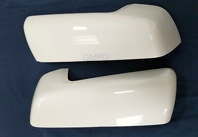 2019 New Generation Silverado Sierra GM White Outside Mirror Caps 84469250 OEM