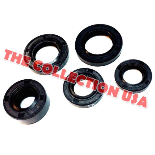 Set Of 5 Oil Seal For Honda Z50 Z50a Z50r Mini Trail 50cc 70cc 90cc 110cc 125cc