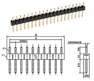 Stiftleiste-40-polig-gerade-RM2-54-2-Stueck