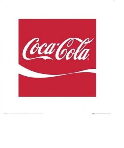 COCA COLA POSTER ~ COKE CLASSIC LOGO ~ 16x16 Advertising Poster ~ Soda Pop