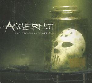 ANGERFIST - THE DEADFACED DIMENSION (3 CD album - 2014) Gabber, Hardcore