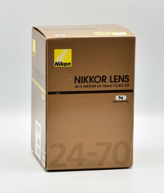 Nikon 24-70 mm F/2.8 ED G AF-S SWM M/A Objektiv NEU OVP
