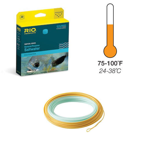 Rio General Purpose Tropical Floating Fly Line, w Free Shipping