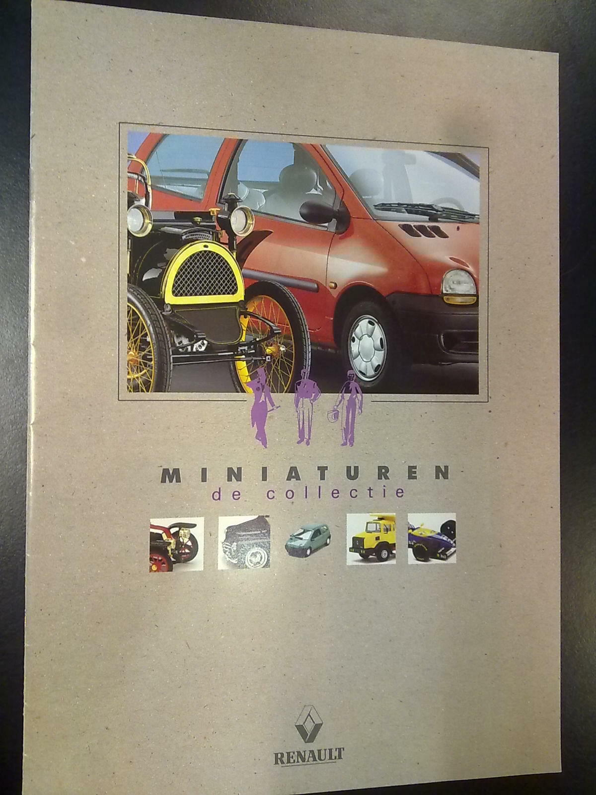 Renault miniaturen, de collectie 1994