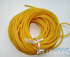 Yellow Tube 5mm*5m Replacement Band for Hunting Sling Shot Slings Rubber