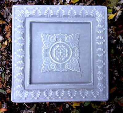 Plastic tuscan cross mold plaster cement mould