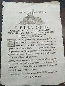 1797-MODENA-REPUBBLICA-CISALPINA-SU-FESTA-PATRIOTICA-VIVERE-LIBERI-O-MORIRE