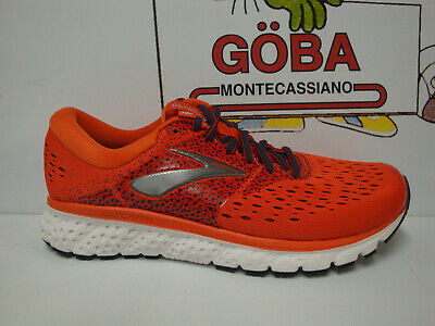 Brooks Glycerin 16 Men's Pianta Media Orange/red/ebony Art. 110289 1d 807