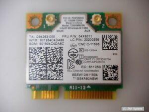 Lenovo-04X6011-2x2BN-BT-PCIE-WLAN-V2-Karte-20200556-04W3815-fuer-E73-M73-M83-M93