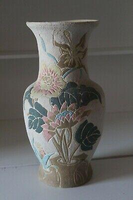 De Goedkoopste Prijs Vase Terre Cuite Ou Gres Decor Floral