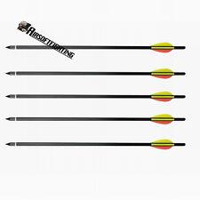 """5pcs 17"""" Heavy Duty Crossbow Bolts Alloy Aluminium Archery Xbow Arrows for 100lb"""