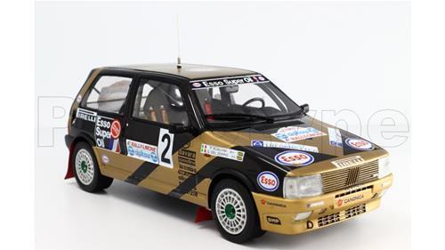 Fiat Uno Turbo I.E. Grifone Rally Limone 1987 N°2 LaudoRacing 1 18 LRLM102