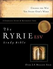 The Ryrie ESV Study Bible Hardback Red Letter (Ryrie Study Bible ESV Version), R