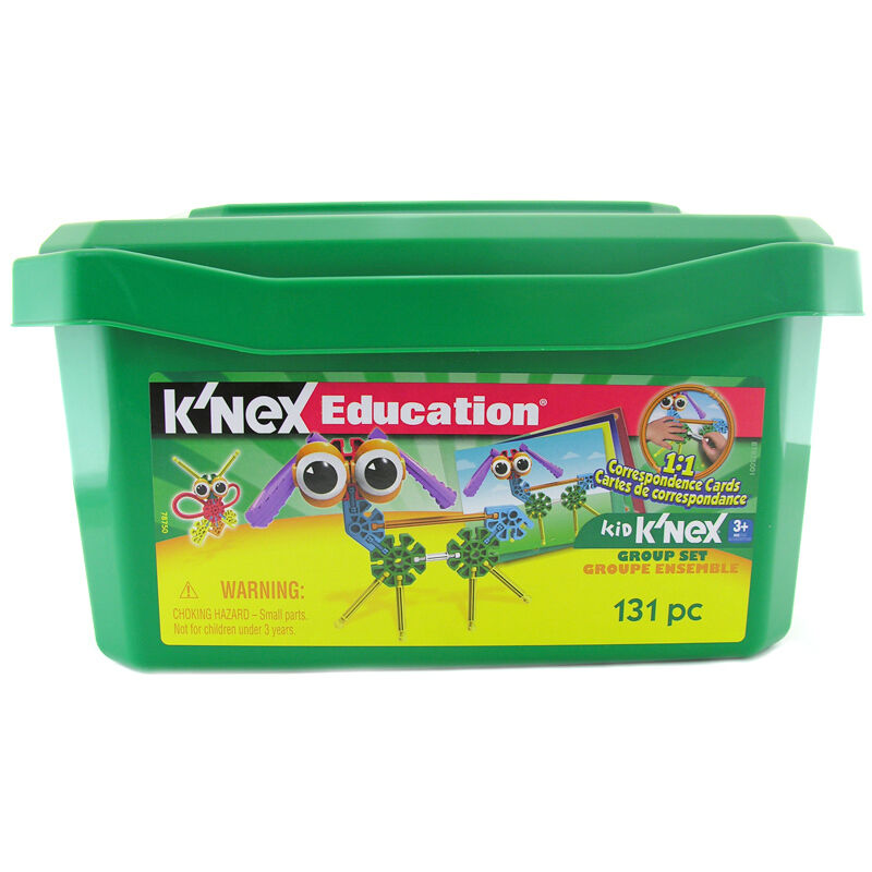 K'Nex Education Kid's K'Nex Group Set NEW
