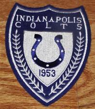 """Indianapolis Colts Shield Patch 5"""" x 3.75"""" Embroidered NEW Nice High Quality"""
