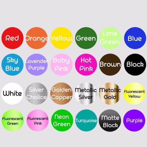 2X Multiple Color Graphic Symbol Racing Vinyl Decal Sticker for Chevrolet Camaro