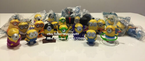 NEW SEALED MCDONALD's MINIONS 2015 Happy Meal COMPLETE FULL AUSTRALIA Set of 14