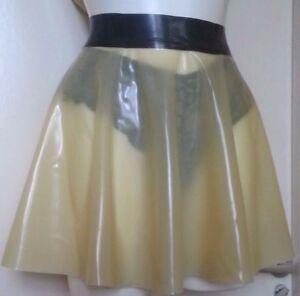 skirt Clear latex