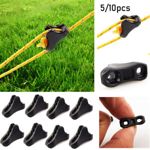 Rope Buckle Tightening Hook Outdoor Tent Accessories Fluorescence Ropes Stopper