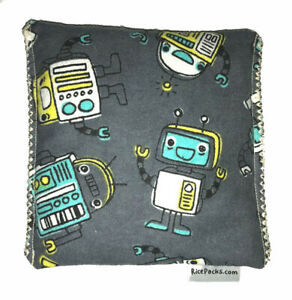 Robots-Pack-Hot-Cold-You-Pick-A-Scent-Microwave-Heating-Pad-Reusable