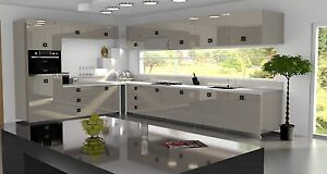 Cubanit Gloss Replacement Acrylic Kitchen Doors Drawers Fronts Ebay