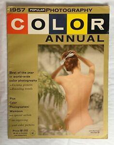 Belle Popular Photography Magazine 1957, Best Of An La Photographie En Couleurs-afficher Le Titre D'origine De Haute Qualité Et Peu CoûTeux
